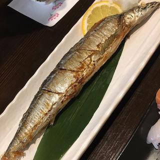 サンマ塩焼き(旬味旬菜 大和)