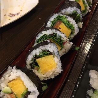 レタス巻き(巻き寿司)(旬味旬菜 大和)