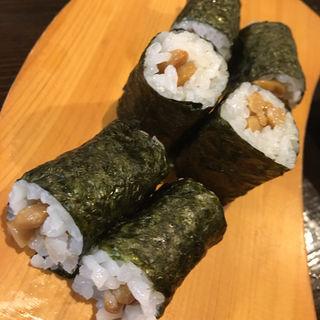 納豆巻き(巻き寿司)(旬味旬菜 大和)
