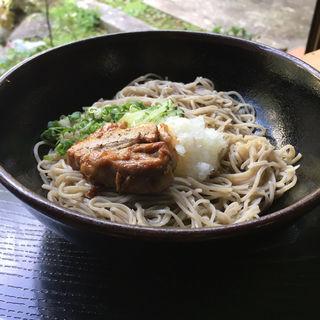 角煮そば(手打そば&グリル まほろば)