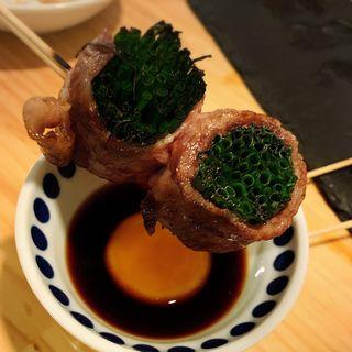 万能ネギ(肉菜炭火屋ミヤビ)