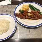 サーロインステーキ定食(150g)