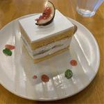 イチジクのショートケーキ(Cafe Kotonoha (カフェ コトノハ))