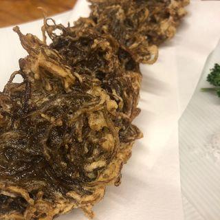 もずくの天ぷら(沖縄居酒屋 うちなー市場)