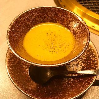 かぼちゃスープ(肉屋甲)
