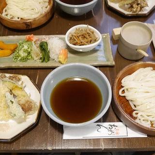 おめんと天ぷらセット(おめん 銀閣寺本店 )