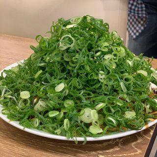 肉玉そば(府中焼き ますひろ 上八丁掘店)