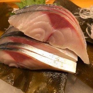 鯖の刺身(旬菜庵あさの)