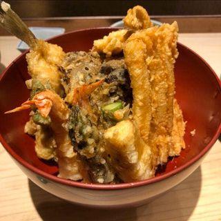 贅沢天丼(てんぷら山の上 Ginza)