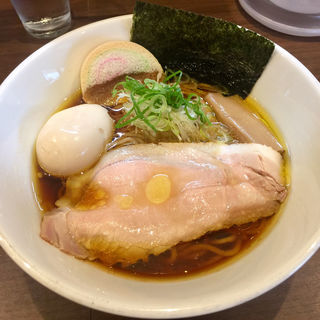丸鶏中華そば(醤油)(香味亭 (KOUMITEI))