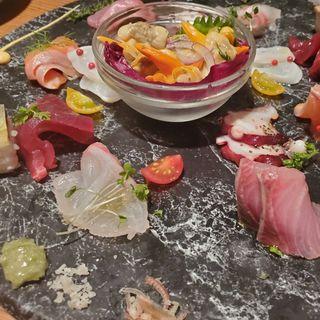 鮮魚のカルパッチョ(タヴェルナ ウオキン (TAVERNA UOKIN))