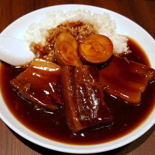 角煮あんかけご飯(万豚記 泉パークタウン タピオ店 (ワンツーチィ))