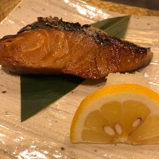 鮭の西京焼き((有)菊寿司)
