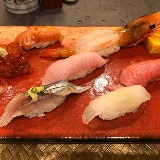 握り寿司((有)菊寿司)