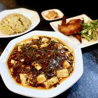 麻婆豆腐定食(半チャーハン)(麺厨房103)