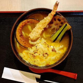 チーズカレーうどん(美の庵 )