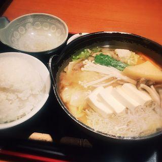 ちゃんこ鍋定食(和久伊 (わくい))