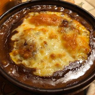 焼きチーズビーフカレー