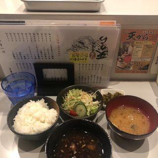 天ぷら定食(博多呑喰処 天から)