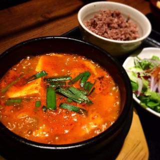 元祖純豆腐定食