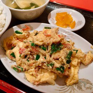 日替わり定食(桜海老と玉子炒め)(紅琳飯店 )