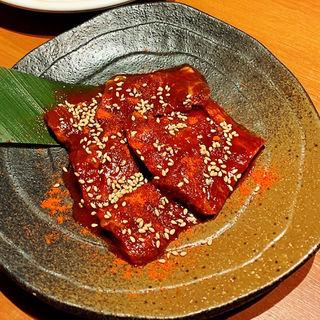 ハラミの激辛味噌焼き
