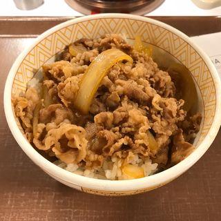 牛丼(並盛)(すき家 西九条駅前店 )