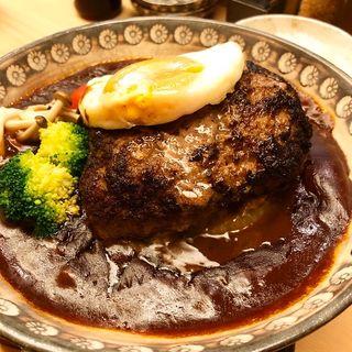 ハンバーグ(京の熟成肉とんかつデミバーグいなかつ)