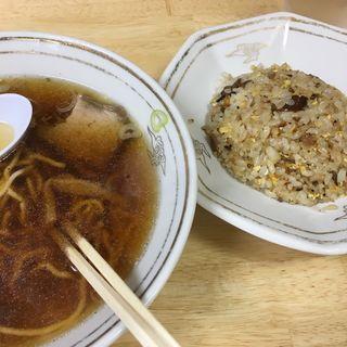 ラーメンチャーハン(谷ラーメン (たにらーめん))