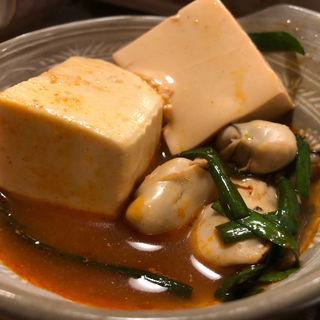 牡蠣鍋(や台ずし 箱崎駅前 )