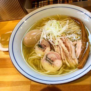 鶏そば 塩のほうへ(味玉)(コッチネッラ(Coccinella))