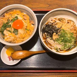 親子丼うどんセット(大盛)(こがらや 堀江店 ( 【旧店名】小雀弥))