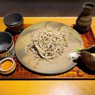 もり蕎麦(大盛り)(伊勢海老蕎麦 清正)