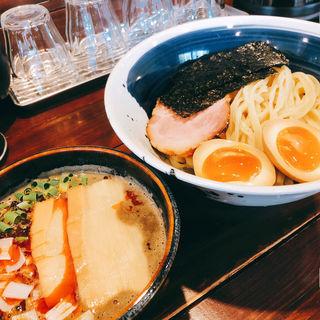 カラニボつけ麺(らー麺 山さわ)