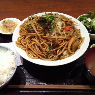 焼きそば定食(博多 慶州 銀座店 )