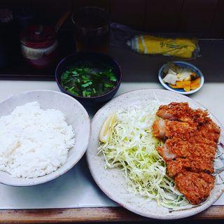 ロースかつ定食(とんかつ繁 (とんかつ しげ))