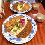 二種もり+タンドリーチキン(ネグラ 妄想インドカレー)