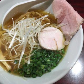 鶏清湯soba醤油(麺屋はじめ)