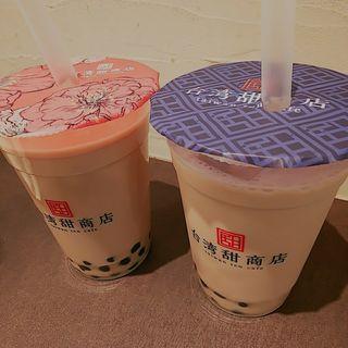 甜ミルクティー タピオカ(台湾甜商店 阪急三番街店)