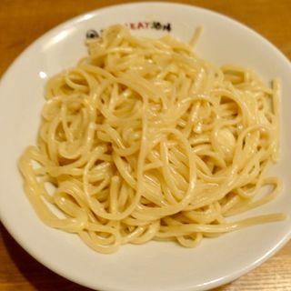 日本一おいしいミートソースのっけ麺