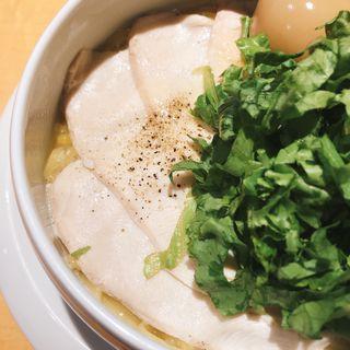 鶏白湯 塩(麺屋 時茂 大久保店)