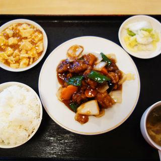 酢豚定食(巧福)