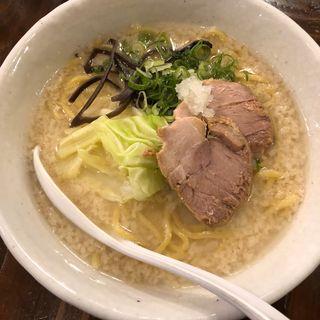 白スープ(山嵐 本店 (やまあらし))