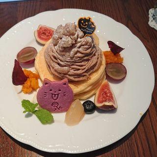ハロウィンパンケーキ(カフェアンジェ (Cafe Ange))