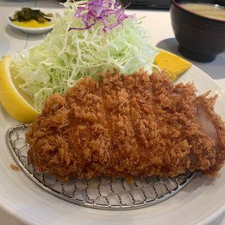 上ロースカツ定食(とんかつ檍 浅草橋店)