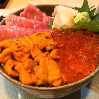 ウニ・イクラ・中トロ丼(鮨國 )