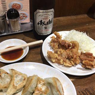 ビールセット(揚子江ラーメン 名門 神山店 )