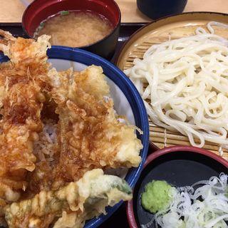 天丼と小うどんセット(天丼てんや 上野店 )