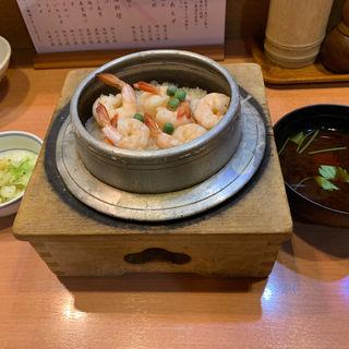 海老釜めし(鳥ぎん 砂町店 (とりぎん))