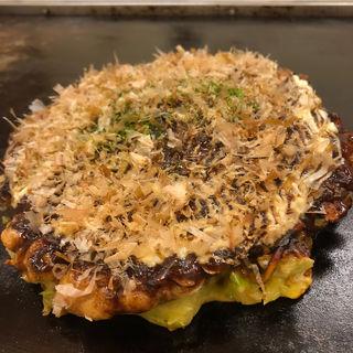 チーモダン焼き(お好み焼き カルカッタ)